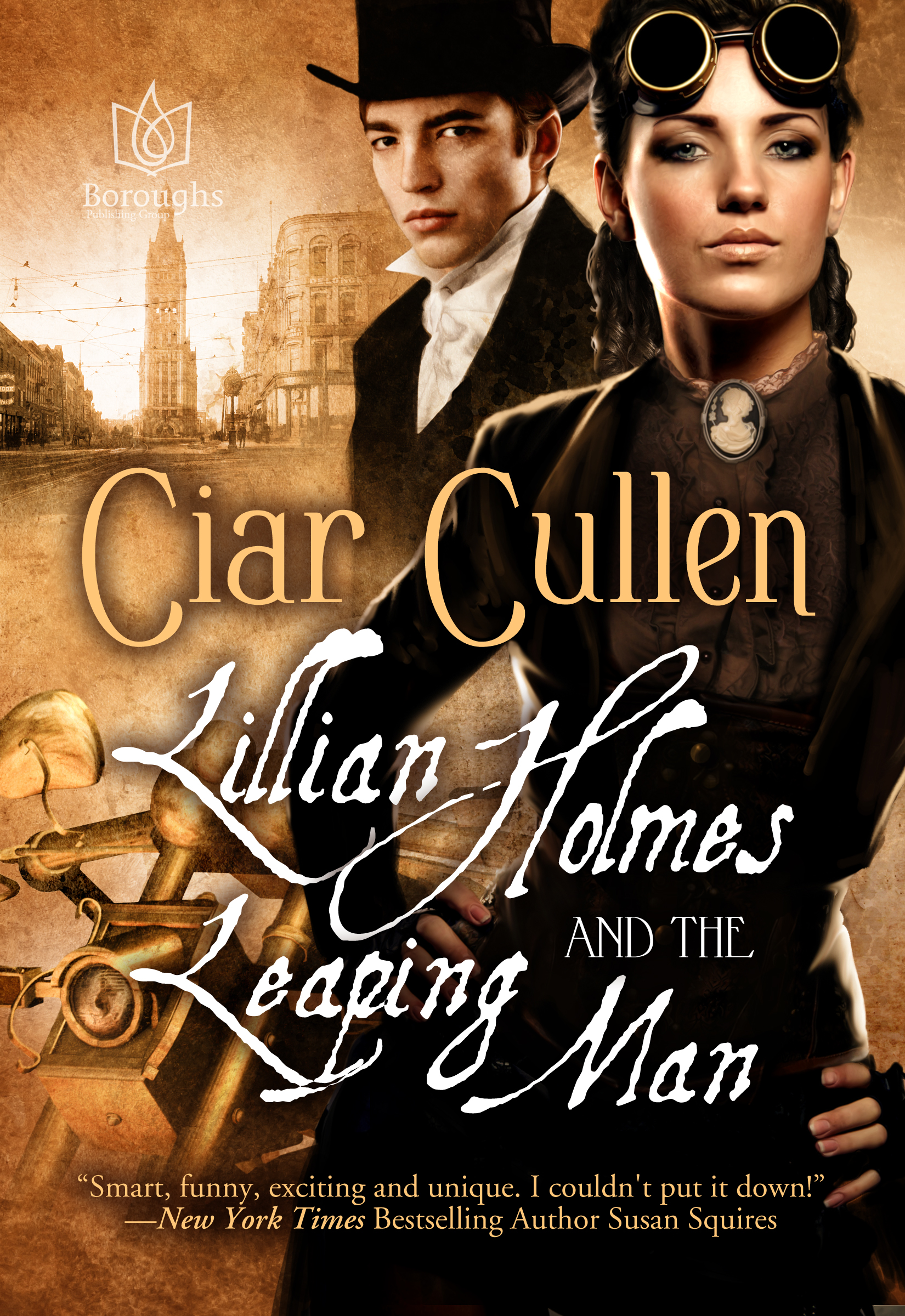 Book Squawk: Lillian Holmes & the Leaping Man Book Tour Announcement