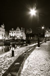 Picture Prompt: Canal at Night