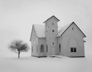 Piclit Picture Prompt: Lonely Church